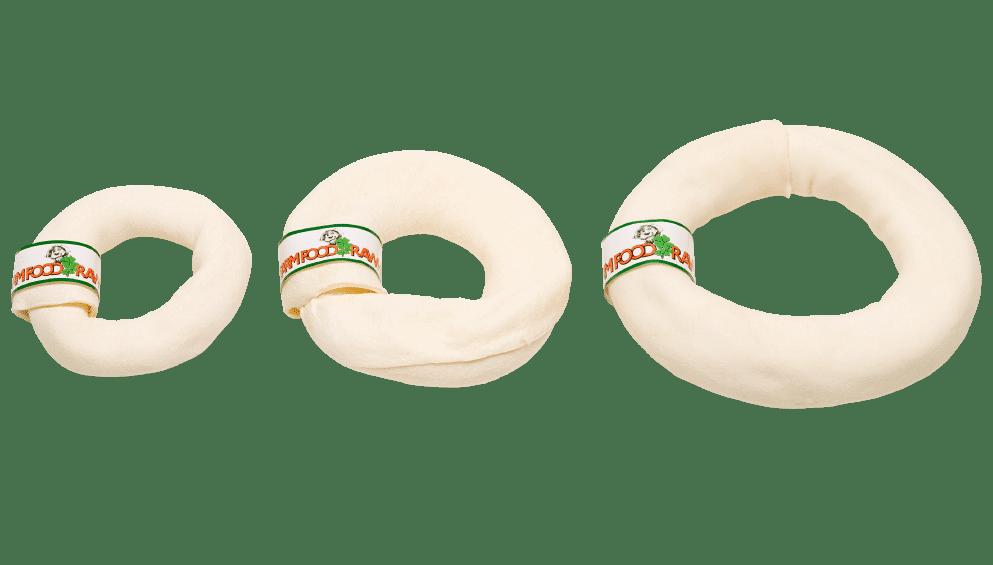 3 forskellige størrelser af donutben