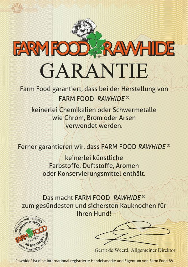 Farm Food Rawhide GARANTIE - DEU