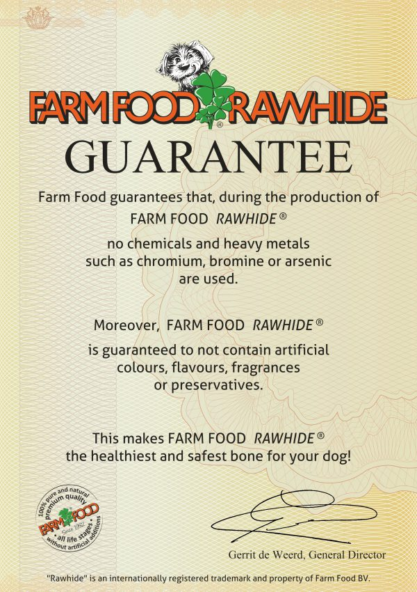 Farm Food Rawhide GUARANTEE - UK