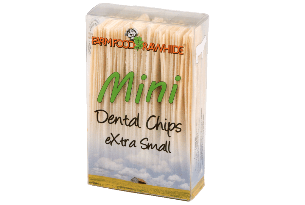 Farm Food Rawhide Dental Chips XS