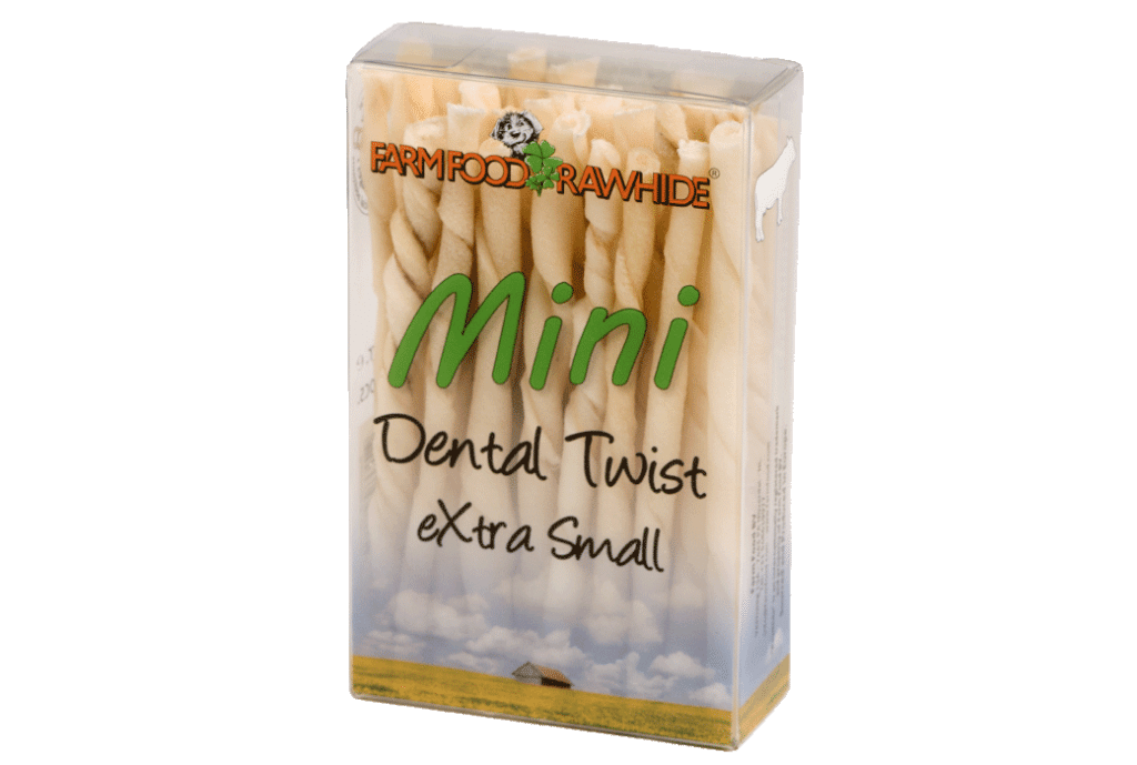 Farm Food Rawhide Dental Twist XS