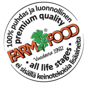 laatumerkki Farm Food Rawhide