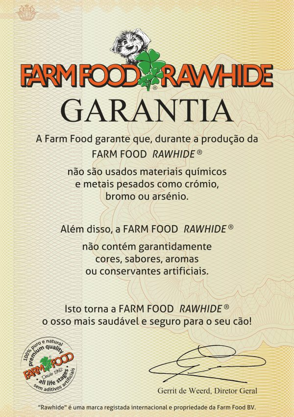 Farm Food Rawhide GARANTIA - PRT