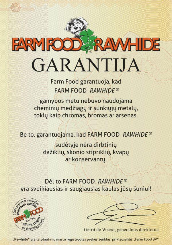 Farm Food Rawhide GARANTIJA - LTU