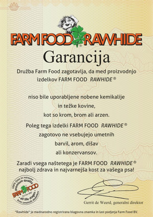 Farm Food Rawhide Garancija - SVN-small